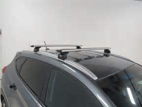 Roof Rack Hyundai Tucson Thule Roof Rack For 2016 Hyundai Tucson Etrailer