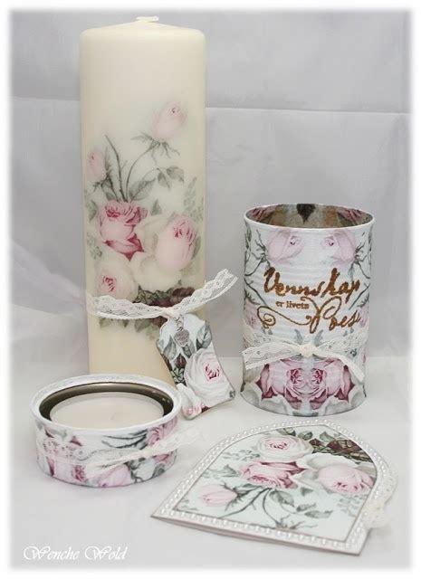 Decoupage Candle Jars -