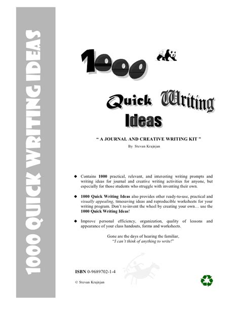 Creative Essay Writing Topics 1000 Writing Ideas