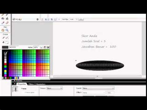 tutorial kuis flash 8 tutorial membuat kuis pilihan ganda pada flash 8 youtube