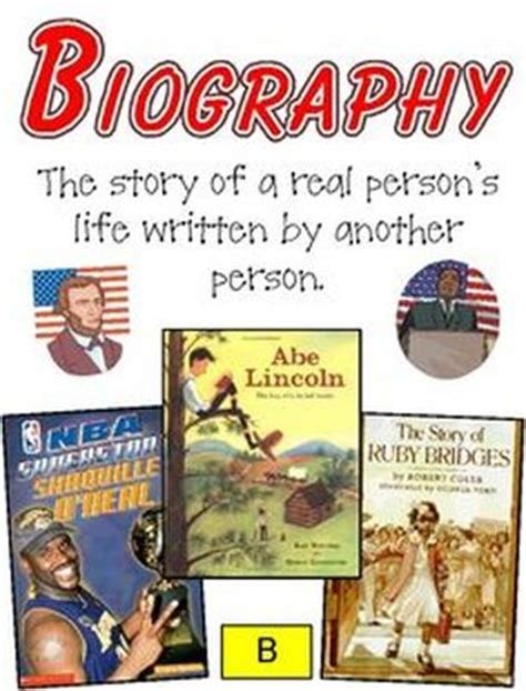 is biography a genre unit 3 4 abe s honest words mrs warner s 4th grade