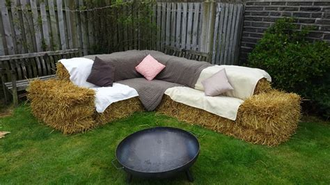 hay bale sofa hire hay straw bales for seating weddings corporate