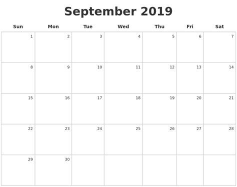 More Calendars November 2019 Printable Calender