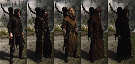 skyrim robes spooky edits darker robes wip at skyrim nexus mods