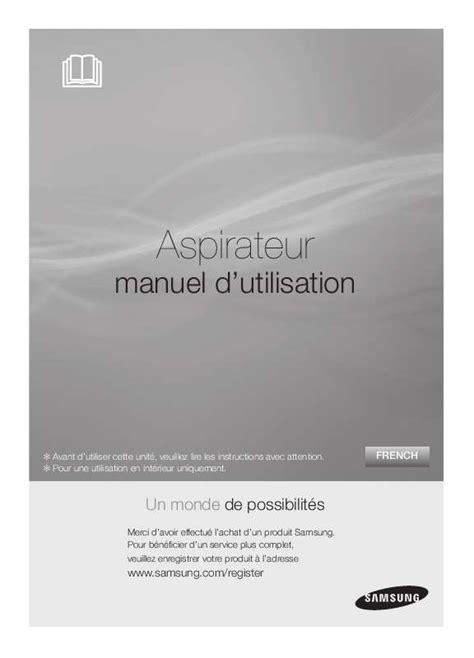 Filtre A Charbon 6780 by Notice Aspirateur Avec Sac Samsung Sc 6780 Et Pi 232 Ces