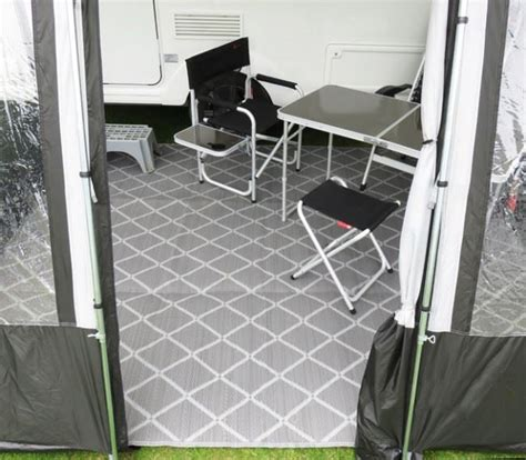 Caravan Awning Mats by Paradise Luxury Breathable Woven Caravan Awning
