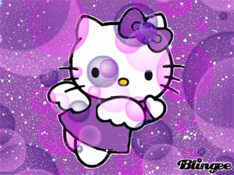 hello kitty violet themes hello kitty in purple picture 122076839 blingee com
