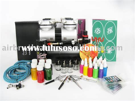 tattoo kit sale philippines temporary airbrush tattoo and airbrush nail beauty kit for