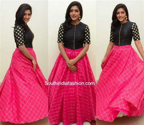 best skirt eesha in skirt and crop top south india fashion