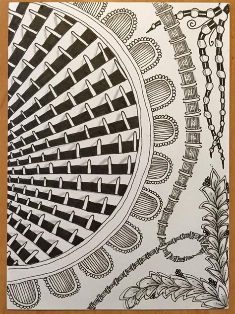 zentangle basket pattern pin by irene hollimon on zentangle patterns and
