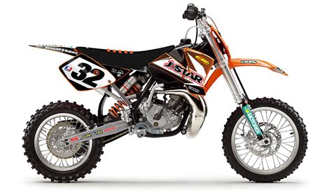 2002 Ktm 65 Sx 2002 2008 Ktm Sx 65 Jdr Jstar Number Plates Graphics By