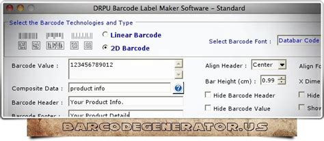 typography generator for mac generator barcode for mac 7 3 0 1 free software