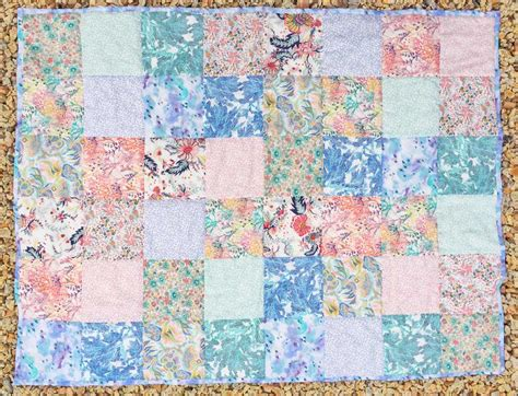 Cot Quilt Patchwork Patterns - caroline liberty fabric patterns kits and