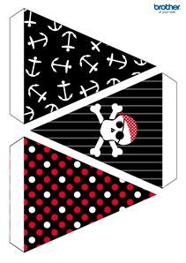 printable pirate party decorations pirates party bunting brother com has a lot of free