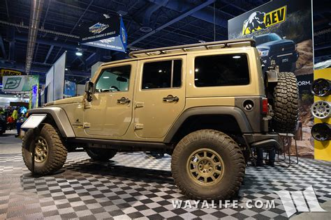 aev jeep 2015 sema aev jeep jk wrangler unlimited