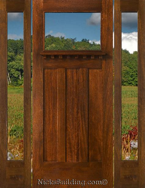 Craftsman Style Exterior Door 1000 Images About House Door Entry On Pinterest Craftsman Door Craftsman And Entry Ways