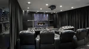 Home Theater Curtains High Tech Entertaining Space Centaur Interiors Hgtv