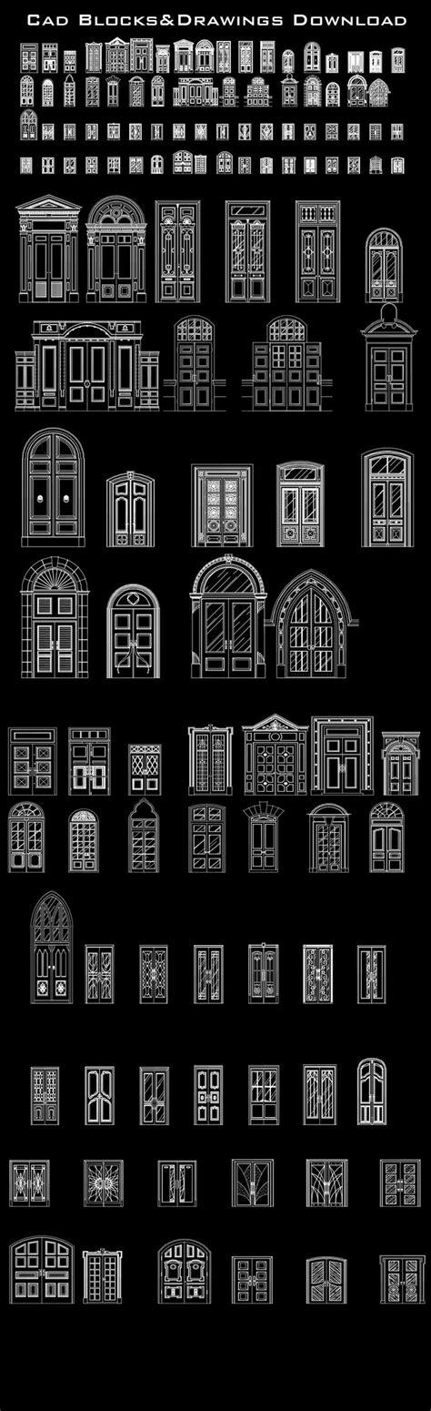 sketchup layout scrapbook doors 25 melhores ideias de autocad no pinterest autodesk dwg