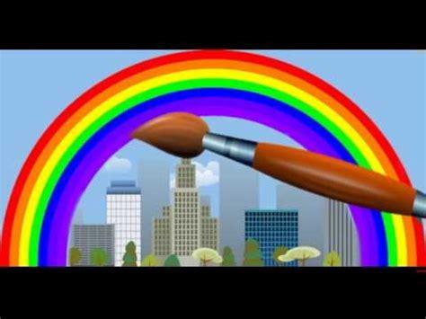 nounours apprend les couleurs de l arc en ciel