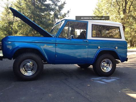 1968 Ford Bronco by 1968 Ford Bronco