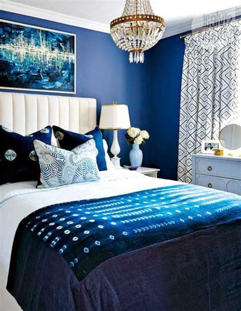 blaues schlafzimmer dormitorios en color azul colores en casa