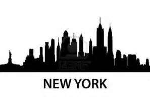 Skyline Silhouette New York City Skyline Clipart Clipartsgram