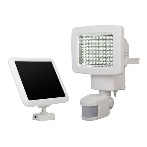 sunforce 80 led solar motion light the home depot canada