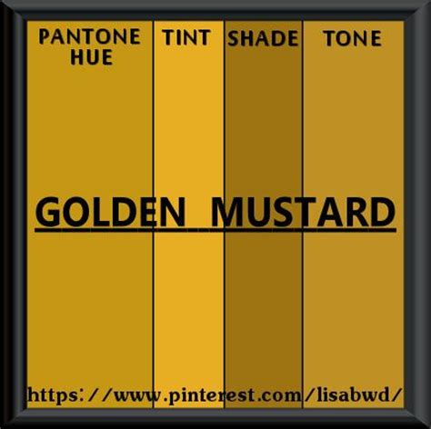 speech pattern thesaurus pantone seasonal color swatch golden mustard color
