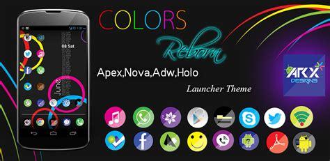 nova launcher anime themes free colors reborn launcher theme apex nova adw holo
