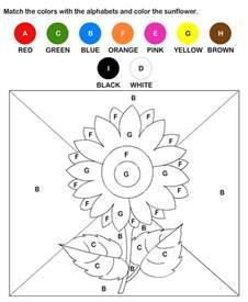 kindergarten coloring worksheets free color by letter worksheets preschool and