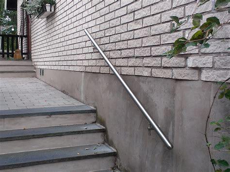 Treppe Handlauf Aussenbereich by Handlauf F 252 R Ihre Treppe Aus Edelstahl Eiche Jatoba