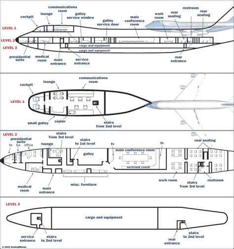 Air Force One Floorplan | vvip aviation