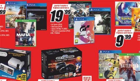 offerte console ps4 volantino mediaworld offerte fino al 25 settembre ps4 vr