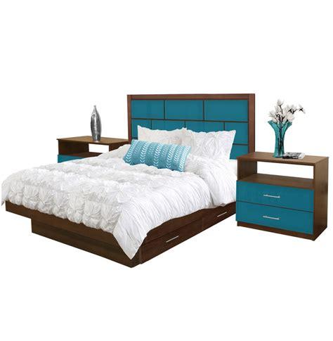 Manhattan Bedroom Set by Manhattan Size Bedroom Set W Storage Platform