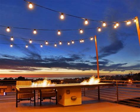 Patio Sting Designs by 17 Best Images About Outdoor String Lights On