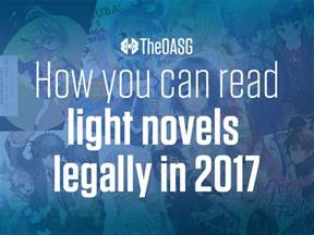 read light novels how you can read light novels legally in 2017 theoasg