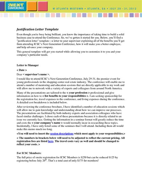 Justification Letter For Course Best Photos Of Sle Of Justification Report Writing Justification Report Exles