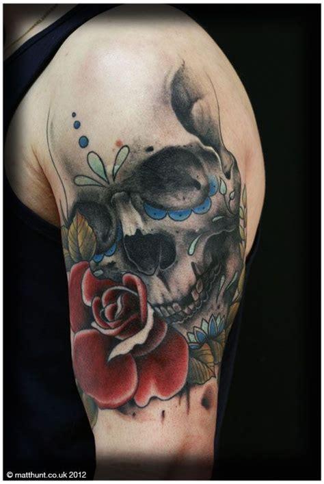 sugar skull shoulder tattoo sugar 40 best skull ideas images on