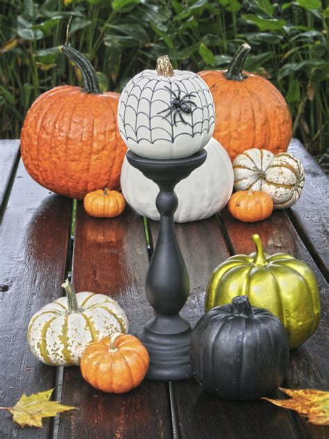 Small Pumpkins Decorating Ideas by S Crafts No Carve Pumpkins For Ii