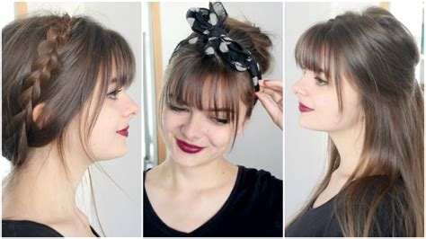 Easy Hairstyles With Bangs by Hairstyles With Bangs Simple Loepsie