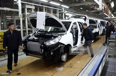 by lilliput models at friday march 15 2013 beijing hyundai motor co plant tour getty images