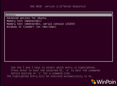 tutorial ubuntu dual boot cara dual boot ubuntu 16 04 lts dan windows 10 full
