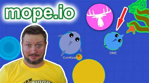mope io mope io med comkean den mandige elg mope io dansk youtube