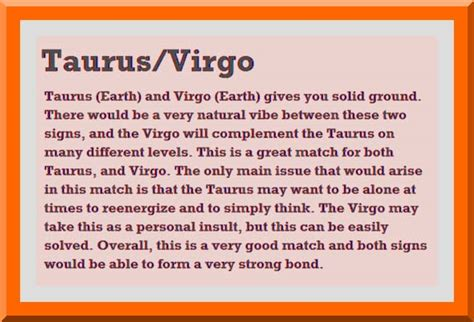 taurus and virgo quotes quotesgram