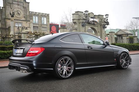 Brabus Bullit Coupe 800 is a Mercedes C63 AMG Coupe with a V12 on Steroids