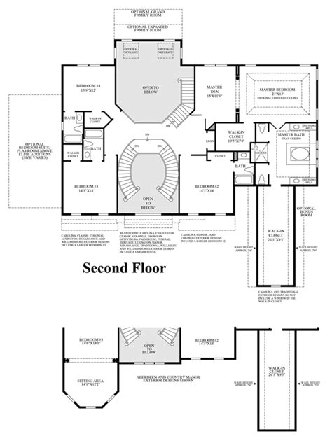 henley homes floor plans the woods of south barrington signature collection the henley home design