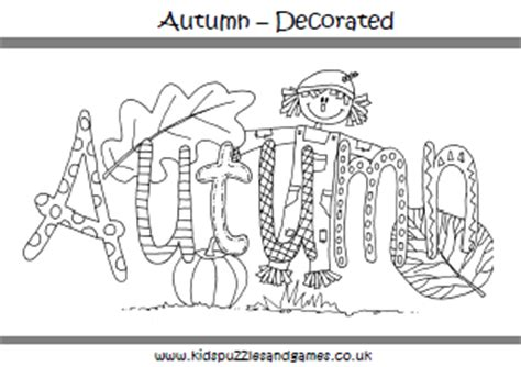 printable autumn themed coloring pages autumn fall colouring sheets kids puzzles and games