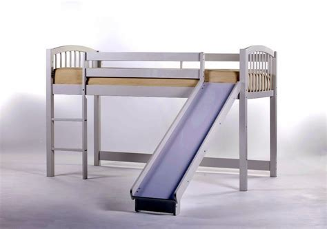 Decoist Bunk Beds Princess Loft Bed With Slide Frame Decoist
