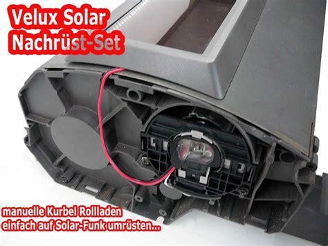 velux rollladen einbau velux rollladen solar nachr 252 st set montageanleitung