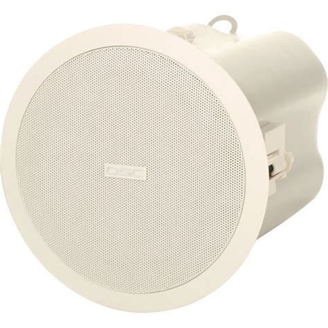 qsc ad c42 acousticdesign ceiling speaker pair ad c42t
